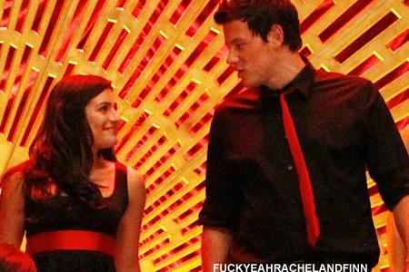 Finn and Rachel - 1x13