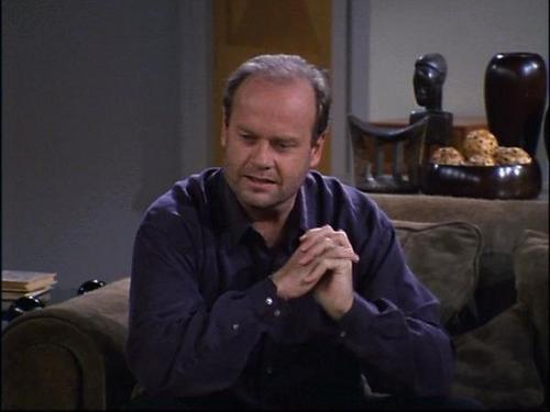 Frasier wallpaper probably with a well dressed person called Frasier Crane