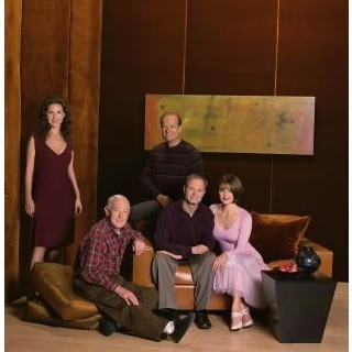 Frasier fondo de pantalla probably with a drawing room, a living room, and a parlor entitled Frasier cast