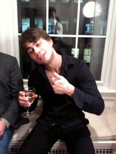 Alexander Rybak wallpaper with a business suit and a well dressed person titled Funny Alex:-D