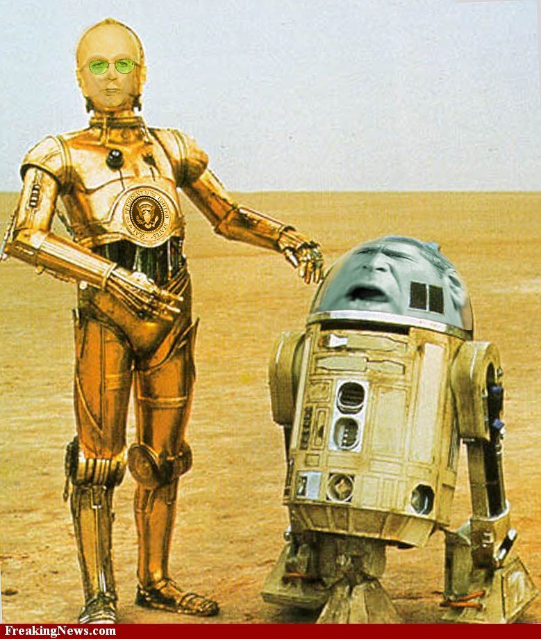 R2d2 And C3po In Movie Funny Robot Quotes. Qu...