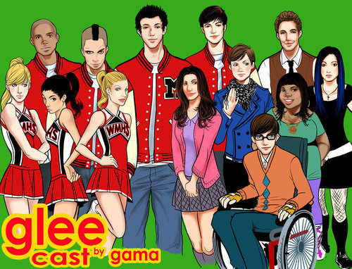burger king kids club glee cartoon