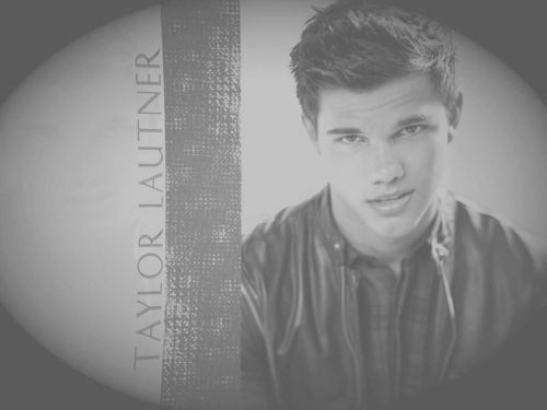 Taylor Lautner wallpaper probably with a sign entitled Good Man / Bad Boy