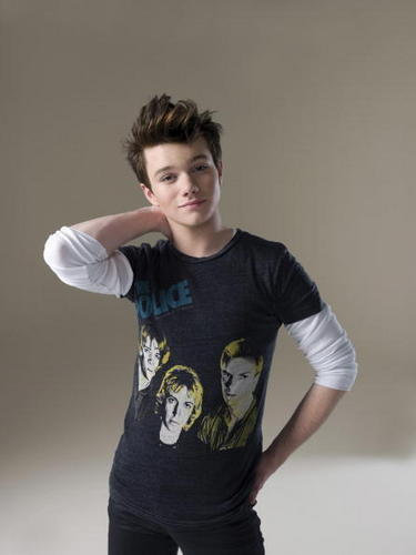 Chris Colfer wallpaper containing a jersey entitled H Magazine Photo Shoot
