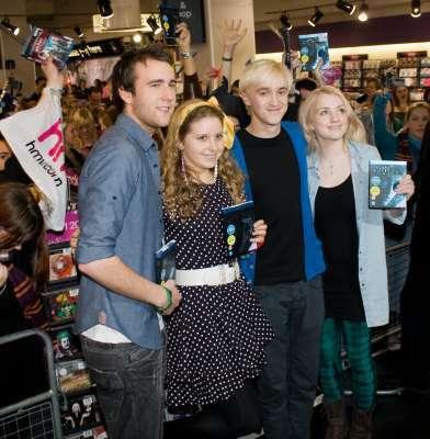HBP Signing at HMV Store