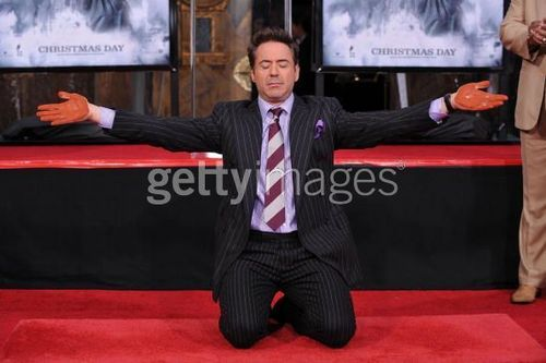 Hand And Foot Print Ceremony - robert-downey-jr Photo