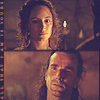 The Last of the Mohicans ছবি possibly with জীবন্ত called Hawkeye/Cora