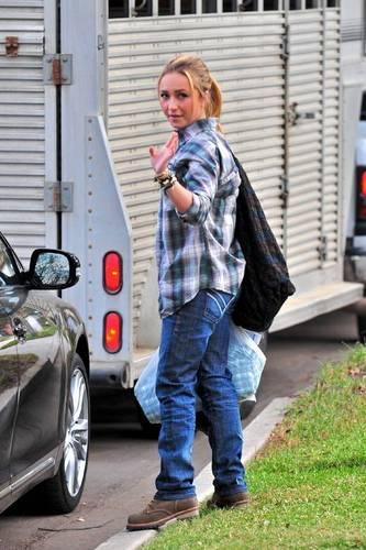 Hayden in LA
