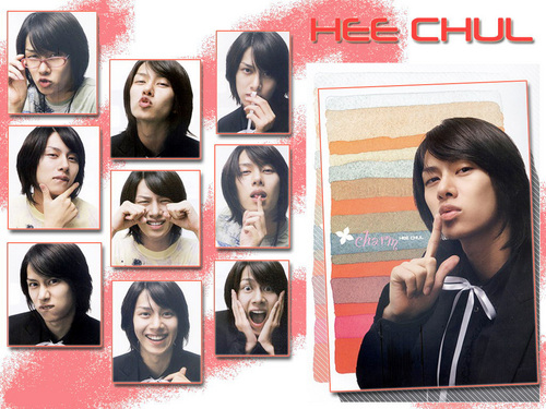 Heechul - super-junior Wallpaper
