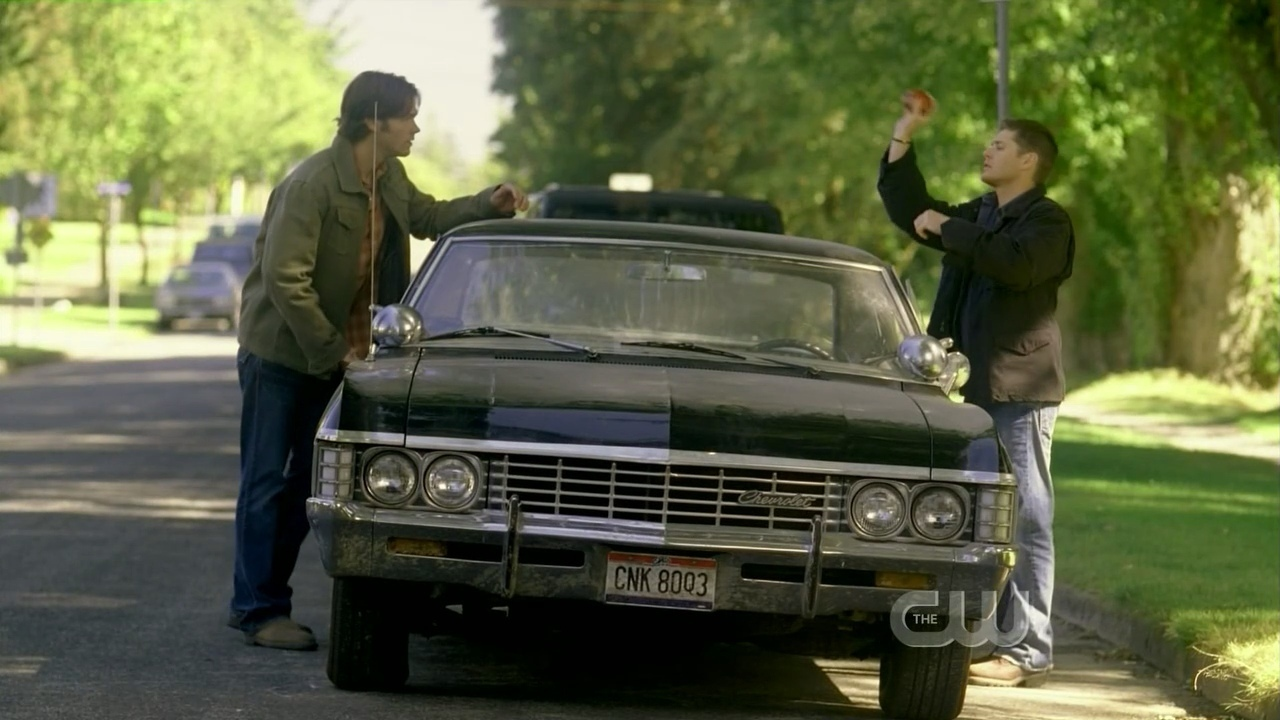 supernatural car impala wallpaper - photo #25
