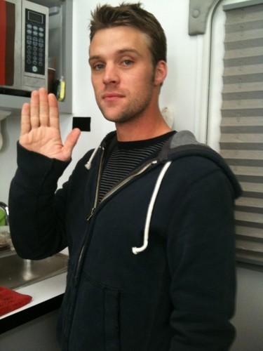 Jesse Spencer says hello!