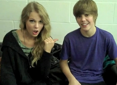 Justin and Taylor Swift