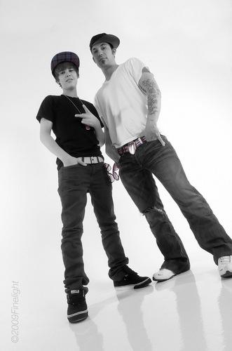 Justin & dad Jeremy