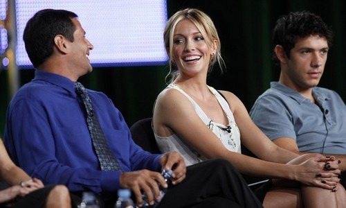 Katie at CW TCA dag Panels