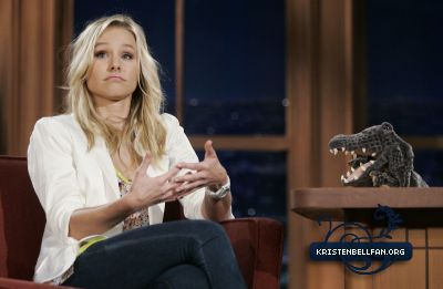 Kristen on The Late tampil With Craig Ferguson