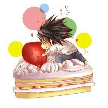 L in the cake - Death Note Photo (9348564) - Fanpop