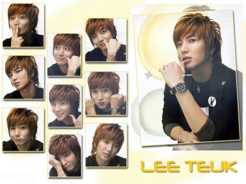 Super Junior Обои entitled Leeteuk