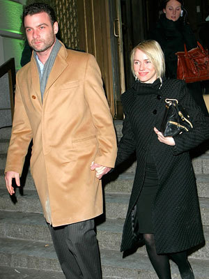 Liev & Naomi Steppin' Out