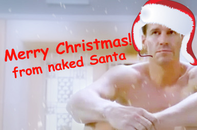 MERRY XMAS FROM NAKED SANTA!XD - graphics-by-j Fan Art