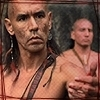 The Last of the Mohicans photo probably containing a portrait entitled Magua