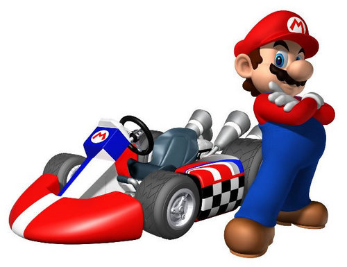 Mario and Luigi wallpaper called Mario Kart Wii