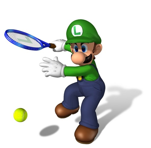 Mario and Luigi wallpaper titled Mario Power Tennis