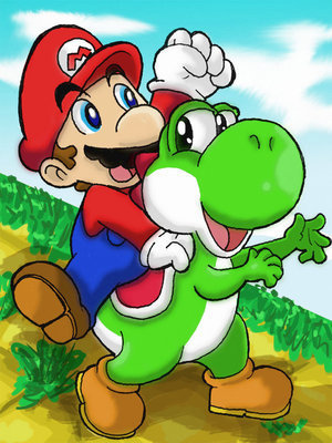 Mario and the Yosh