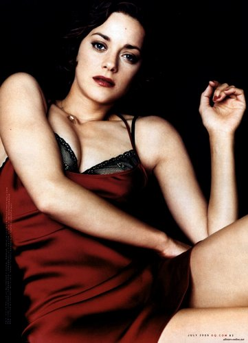 Marion Cotillard wallpaper possibly containing attractiveness and skin titled Marion Cotillard | GQ Scans