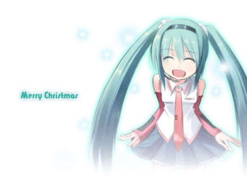 Merry Christmas From Miku