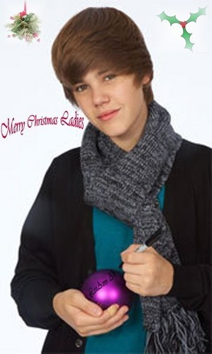 Merry xmas ladies Von Justin Bieber
