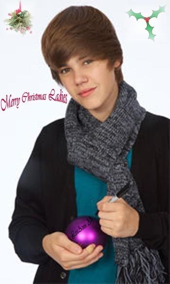 Merry xmas ladies by Justin Bieber