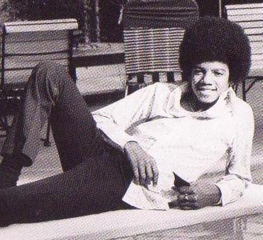 Michael Jackson in his younger days