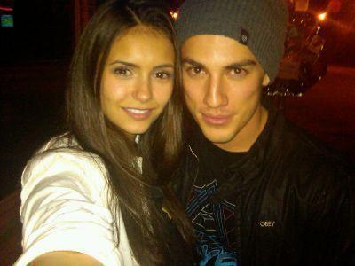 Nina Dobrev And Michael Trevino