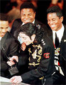 Michael and brothers - michael-jackson photo