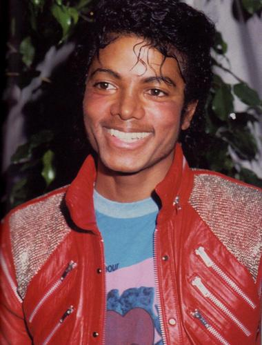 Michael during the 'Thriller' days
