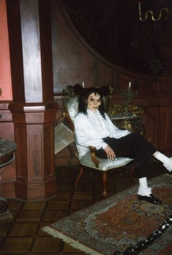 "Michael with mask from ""Ghosts"""