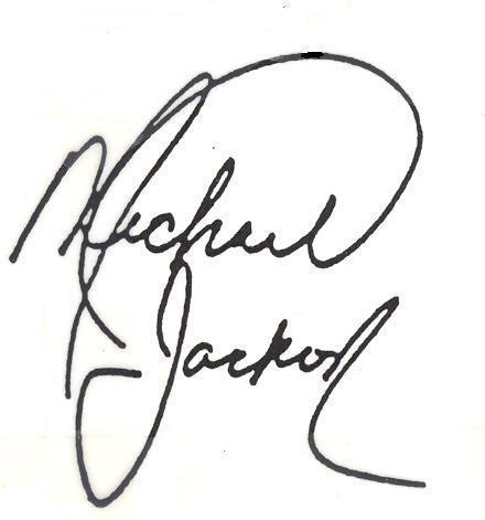 Michasls Jackson Signature Photo