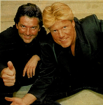 Modern Talking Hintergrund possibly with a business suit entitled Modern Talking