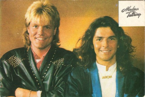 Modern Talking achtergrond entitled Modern Talking