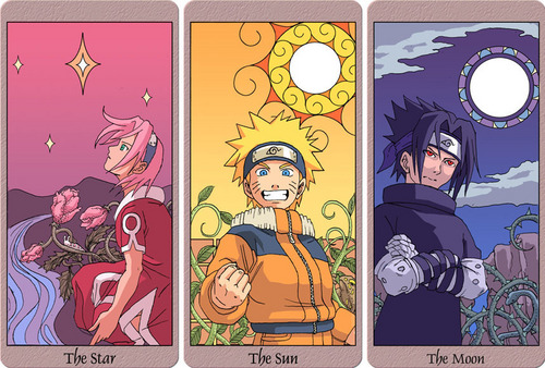Naruto - Sun, Moon, and ster