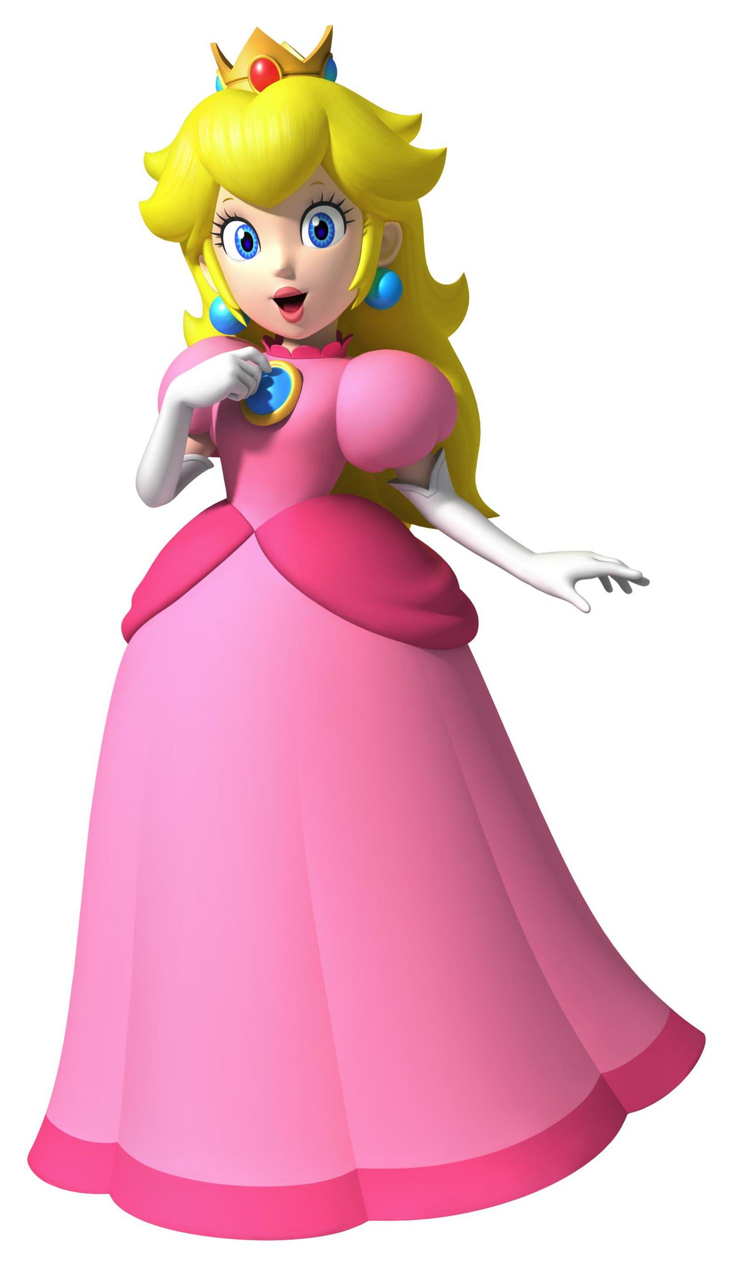 La Princesa De Mario Bross Pictures To Pin On Pinterest