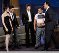 New TwiTrinity Pic At Jimmy Kimmel  - twilight-series photo