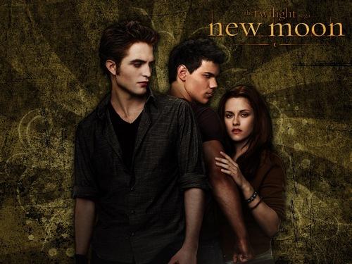 Filem New Moon kertas-kertas dinding <3