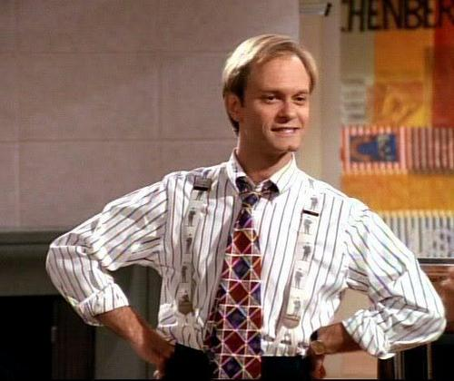 Frasier fondo de pantalla probably with a business suit called Niles grua, grúa