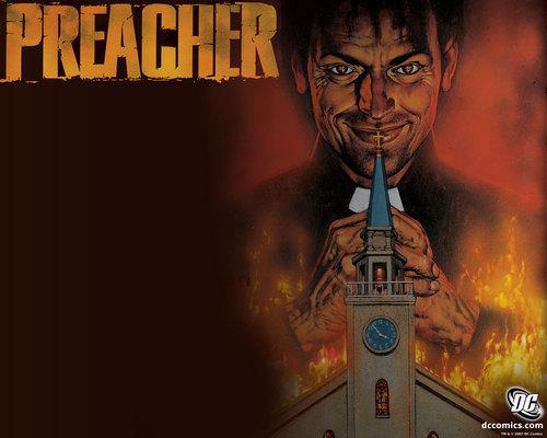 Preacher | Official Vertigo Обои