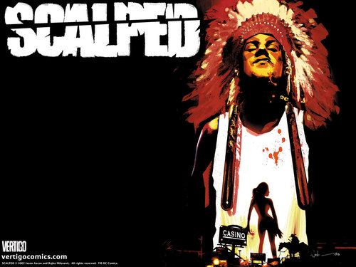 Scalped | Official Vertigo fonds d'écran