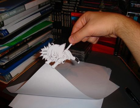 Paper anime