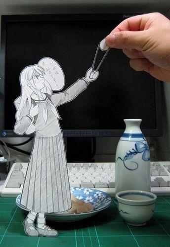 Paper animé