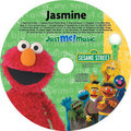 Personalized Elmo and Friends Muzik CD