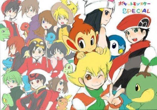 Pokémon Adventures Pokémon Adventures Photo 9347392